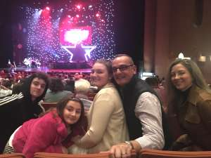 Gennaro attended A Magical Cirque Christmas on Dec 26th 2019 via VetTix