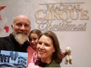 Ryan attended A Magical Cirque Christmas on Dec 26th 2019 via VetTix