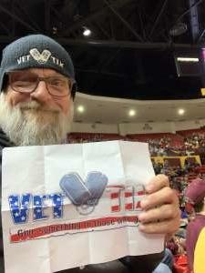 Kevin attended Arizona State Sun Devils vs. Colorado - NCAA Men's Basketball on Jan 16th 2020 via VetTix