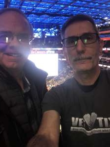 Howard attended Detroit Pistons vs. Sacramento Kings - NBA on Jan 22nd 2020 via VetTix