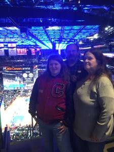 Johnny attended Detroit Pistons vs. Sacramento Kings - NBA on Jan 22nd 2020 via VetTix