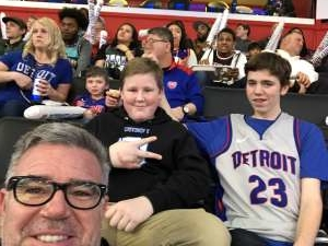 Donald attended Detroit Pistons vs. Sacramento Kings - NBA on Jan 22nd 2020 via VetTix
