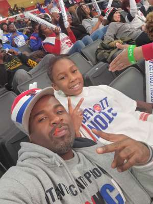 Eric attended Detroit Pistons vs. Sacramento Kings - NBA on Jan 22nd 2020 via VetTix