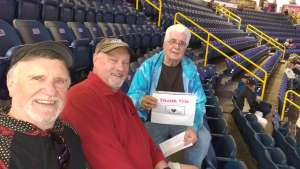 James attended Florida Everblades vs. Fort Wayne Komets - ECHL on Jan 29th 2020 via VetTix