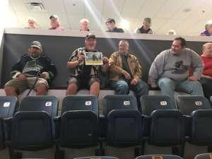 Thomas attended Florida Everblades vs. Fort Wayne Komets - ECHL on Jan 29th 2020 via VetTix
