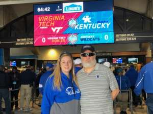 Donald attended 2019 Belk Bowl: Virginia Tech Hokies vs. Kentucky Wildcats - NCAA on Dec 31st 2019 via VetTix