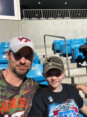 Joshua attended 2019 Belk Bowl: Virginia Tech Hokies vs. Kentucky Wildcats - NCAA on Dec 31st 2019 via VetTix