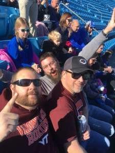 Kyle attended 2019 Belk Bowl: Virginia Tech Hokies vs. Kentucky Wildcats - NCAA on Dec 31st 2019 via VetTix