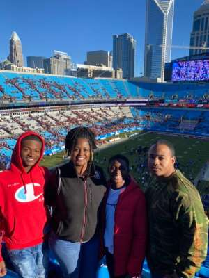 Shenitra attended 2019 Belk Bowl: Virginia Tech Hokies vs. Kentucky Wildcats - NCAA on Dec 31st 2019 via VetTix