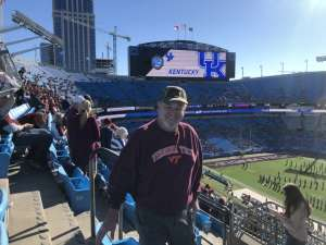 Ronald attended 2019 Belk Bowl: Virginia Tech Hokies vs. Kentucky Wildcats - NCAA on Dec 31st 2019 via VetTix