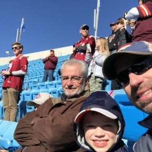 Thomas attended 2019 Belk Bowl: Virginia Tech Hokies vs. Kentucky Wildcats - NCAA on Dec 31st 2019 via VetTix