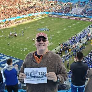 John attended 2019 Belk Bowl: Virginia Tech Hokies vs. Kentucky Wildcats - NCAA on Dec 31st 2019 via VetTix