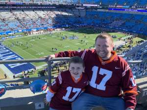 Brian attended 2019 Belk Bowl: Virginia Tech Hokies vs. Kentucky Wildcats - NCAA on Dec 31st 2019 via VetTix