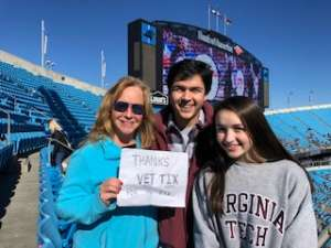 David attended 2019 Belk Bowl: Virginia Tech Hokies vs. Kentucky Wildcats - NCAA on Dec 31st 2019 via VetTix