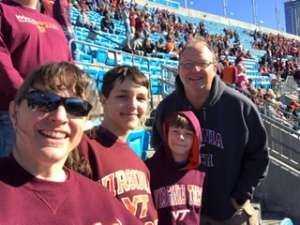 Weinland Family attended 2019 Belk Bowl: Virginia Tech Hokies vs. Kentucky Wildcats - NCAA on Dec 31st 2019 via VetTix