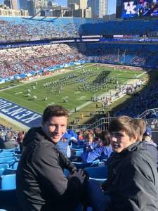 Rob attended 2019 Belk Bowl: Virginia Tech Hokies vs. Kentucky Wildcats - NCAA on Dec 31st 2019 via VetTix
