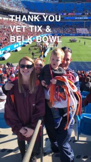 Alan attended 2019 Belk Bowl: Virginia Tech Hokies vs. Kentucky Wildcats - NCAA on Dec 31st 2019 via VetTix