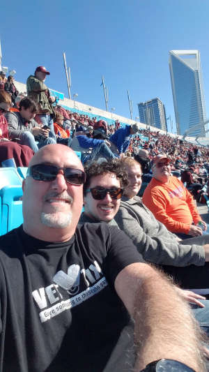 Patrick attended 2019 Belk Bowl: Virginia Tech Hokies vs. Kentucky Wildcats - NCAA on Dec 31st 2019 via VetTix