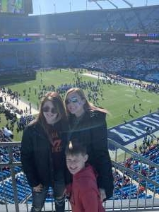 Amanda attended 2019 Belk Bowl: Virginia Tech Hokies vs. Kentucky Wildcats - NCAA on Dec 31st 2019 via VetTix