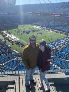 Benjamin attended 2019 Belk Bowl: Virginia Tech Hokies vs. Kentucky Wildcats - NCAA on Dec 31st 2019 via VetTix