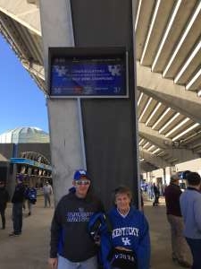 Kaitlyn attended 2019 Belk Bowl: Virginia Tech Hokies vs. Kentucky Wildcats - NCAA on Dec 31st 2019 via VetTix