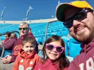 Jerry attended 2019 Belk Bowl: Virginia Tech Hokies vs. Kentucky Wildcats - NCAA on Dec 31st 2019 via VetTix