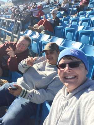 SONYA attended 2019 Belk Bowl: Virginia Tech Hokies vs. Kentucky Wildcats - NCAA on Dec 31st 2019 via VetTix