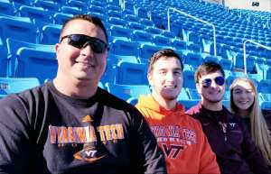 charles attended 2019 Belk Bowl: Virginia Tech Hokies vs. Kentucky Wildcats - NCAA on Dec 31st 2019 via VetTix