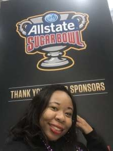 isaaica attended Allstate Sugar Bowl: Georgia vs. Baylor - NCAA on Jan 1st 2020 via VetTix