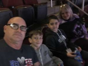 Thomas attended New Jersey Devils vs. Colorado Avalanche on Jan 4th 2020 via VetTix
