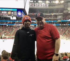 Alexander attended New Jersey Devils vs. Colorado Avalanche on Jan 4th 2020 via VetTix