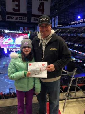 Patrick attended New Jersey Devils vs. Colorado Avalanche on Jan 4th 2020 via VetTix