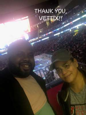 LOIDA attended New Jersey Devils vs. Colorado Avalanche on Jan 4th 2020 via VetTix