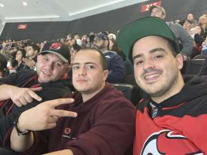 Carlos attended New Jersey Devils vs. Colorado Avalanche on Jan 4th 2020 via VetTix
