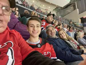 steven attended New Jersey Devils vs. Colorado Avalanche on Jan 4th 2020 via VetTix