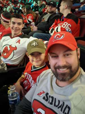 Justin D. attended New Jersey Devils vs. Colorado Avalanche on Jan 4th 2020 via VetTix