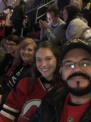 Scott attended New Jersey Devils vs. Colorado Avalanche on Jan 4th 2020 via VetTix