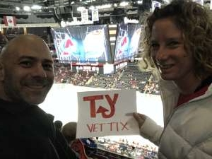 Anthony attended New Jersey Devils vs. Colorado Avalanche on Jan 4th 2020 via VetTix