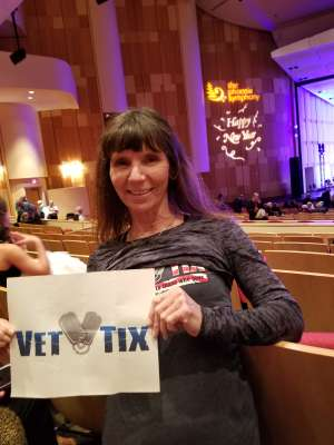 Georgianna attended The Phoenix Symphony - New Year's Celebration on Dec 31st 2019 via VetTix