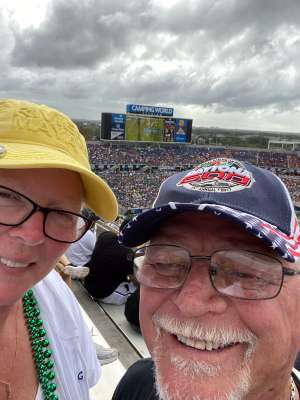 ROBERT attended 2019 Camping World Bowl - Notre Dame vs. Iowa State on Dec 28th 2019 via VetTix