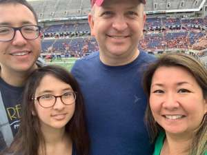 Dirk attended 2019 Camping World Bowl - Notre Dame vs. Iowa State on Dec 28th 2019 via VetTix