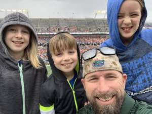 stephen attended 2019 Camping World Bowl - Notre Dame vs. Iowa State on Dec 28th 2019 via VetTix