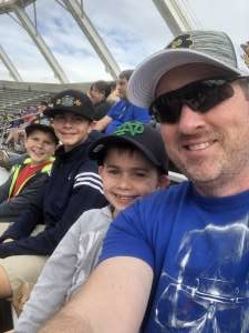 Jonathan attended 2019 Camping World Bowl - Notre Dame vs. Iowa State on Dec 28th 2019 via VetTix