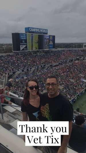 Juan attended 2019 Camping World Bowl - Notre Dame vs. Iowa State on Dec 28th 2019 via VetTix