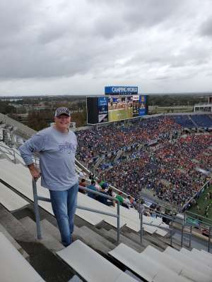 Paul attended 2019 Camping World Bowl - Notre Dame vs. Iowa State on Dec 28th 2019 via VetTix