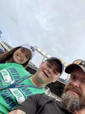 brian attended 2019 Camping World Bowl - Notre Dame vs. Iowa State on Dec 28th 2019 via VetTix