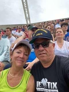 Robert attended 2019 Camping World Bowl - Notre Dame vs. Iowa State on Dec 28th 2019 via VetTix