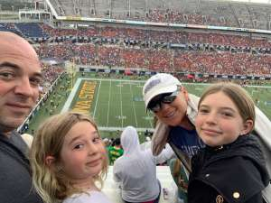 Heith attended 2019 Camping World Bowl - Notre Dame vs. Iowa State on Dec 28th 2019 via VetTix