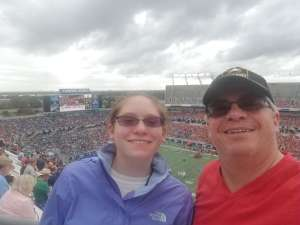Keith attended 2019 Camping World Bowl - Notre Dame vs. Iowa State on Dec 28th 2019 via VetTix