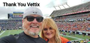 Bryan attended 2019 Camping World Bowl - Notre Dame vs. Iowa State on Dec 28th 2019 via VetTix
